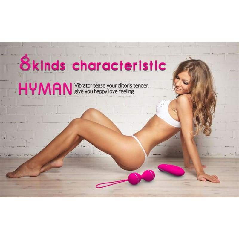 Remote Control Kegel Ball Geisha Ball Vaginal Tight Exercise Dual Vibrator