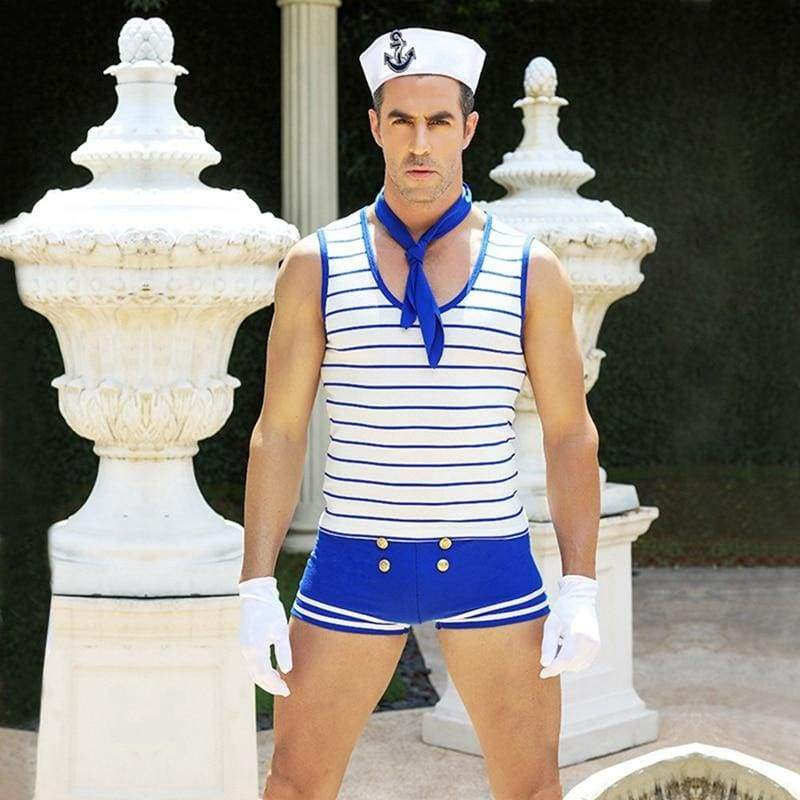 Sailor - Sexy Underwear Set Erotic Costume For Man