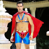 Superhero - Sexy Underwear Set Erotic Costume For Man