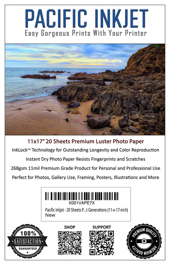 11x17 Professional Premium Luster Delivers Gorgeous Photos