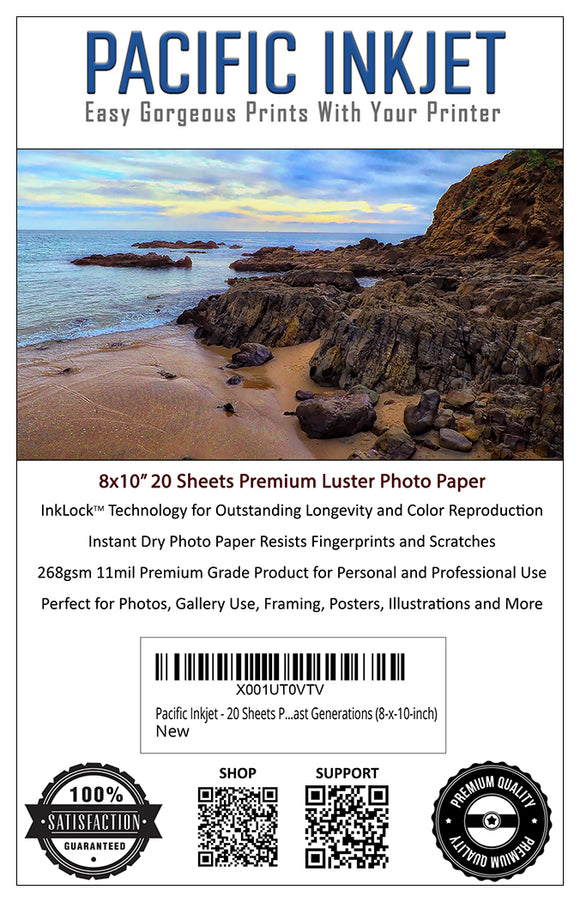 8x10 Professional Premium Luster Delivers Gorgeous Photos