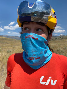 Rebecca's Private Idaho neck gaiter