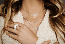 CZ Delicate Star Necklace