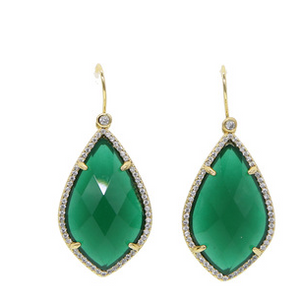 Emaan Green earrings