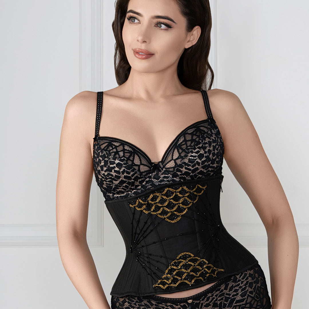 Wearing a Corset: Where Does it all go?