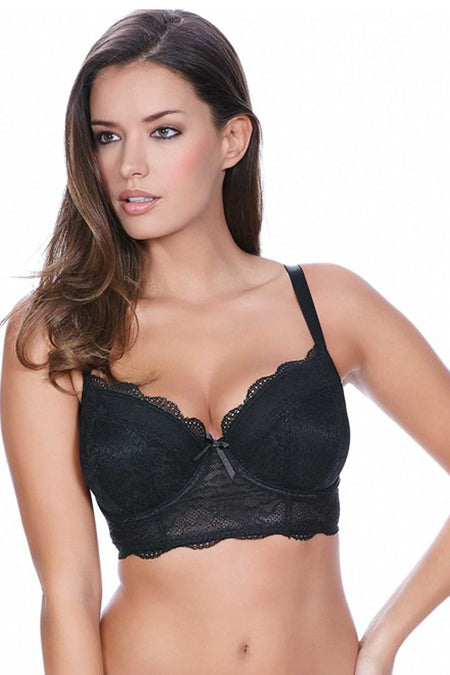 Freya Fancies Black Uw Longline Bra