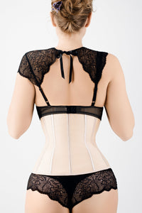 Corset Story Gold Latex Underbust Corset