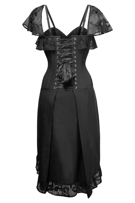Evening Black Corset Dress