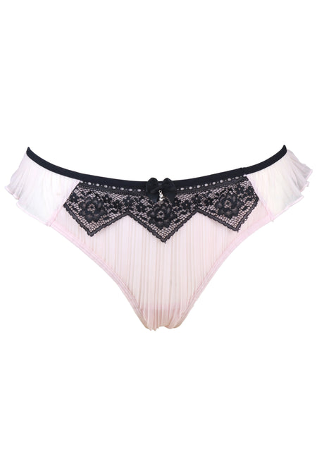 Voila Brief - Pink/Black
