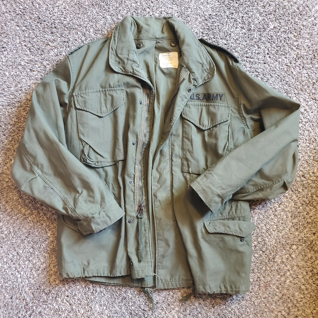 1970s Vietnam Era US Army Field Coat