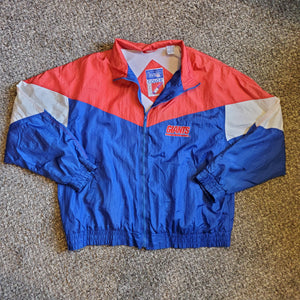 1990s Color Works NY Giants Windbreaker