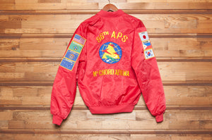 1980s McChord Air Force Base Satin Jacket - C.G. Harrison & Co