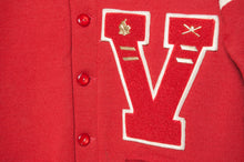 Load image into Gallery viewer, 1950s Whiting Wool Varsity Cardigan - C.G. Harrison & Co