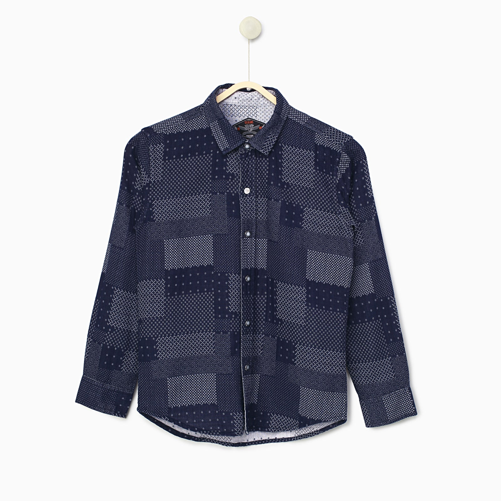 Blue Reversible Shirt