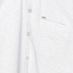 White Melange Shirt