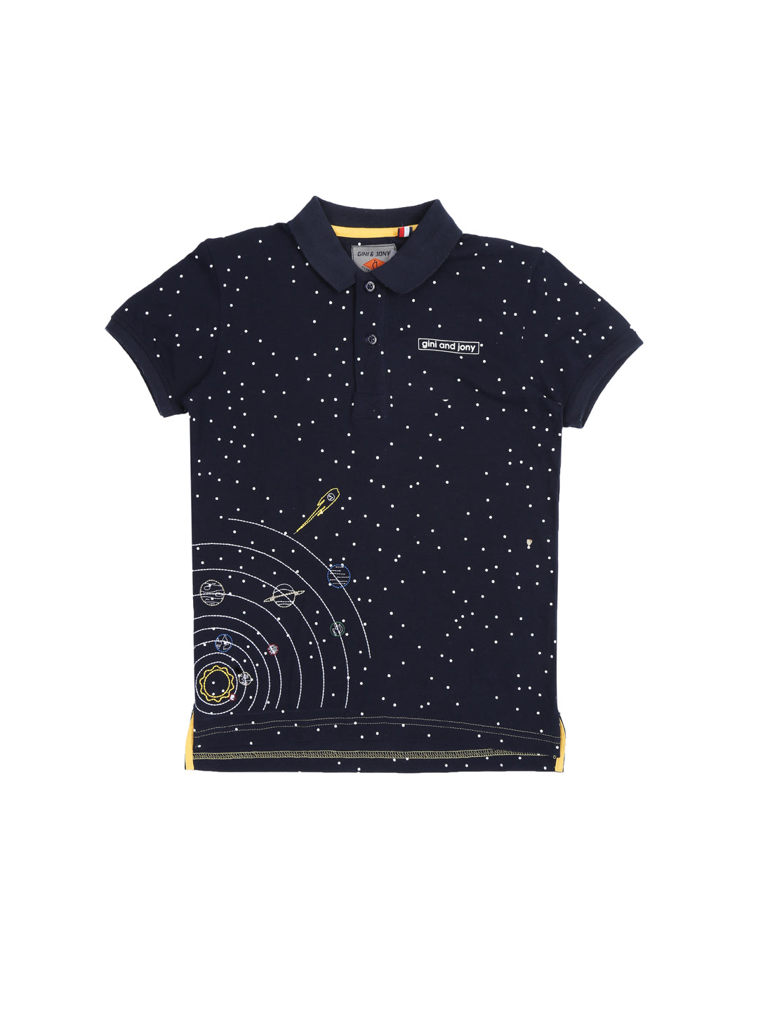 Black Iris Polo T-Shirt