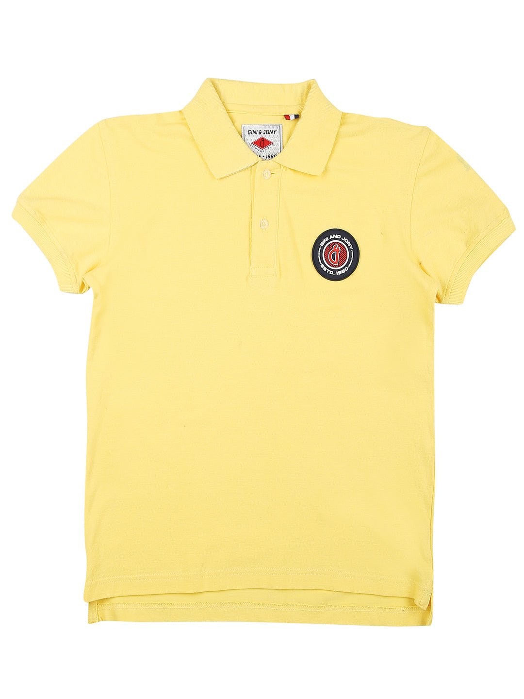 Blazing Yellow Polo T-Shirt