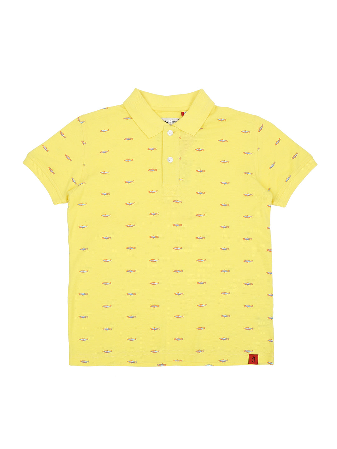 Blazing Yellow Polo T-Shirt Half Sleeves