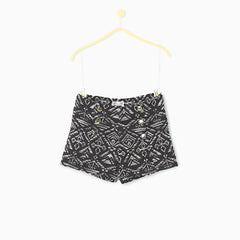 Caviar Black Hot Shorts
