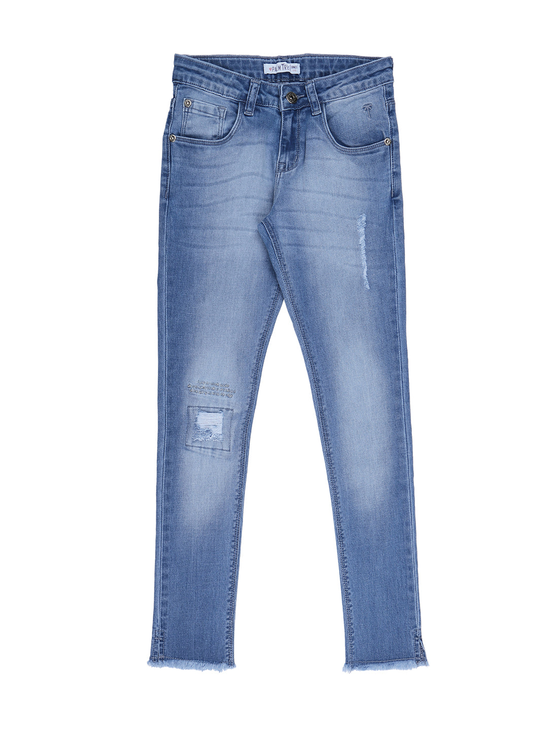 Blue Ice Wash Jeans2