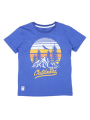 Dazzling Blue T-Shirt Pack Of-3