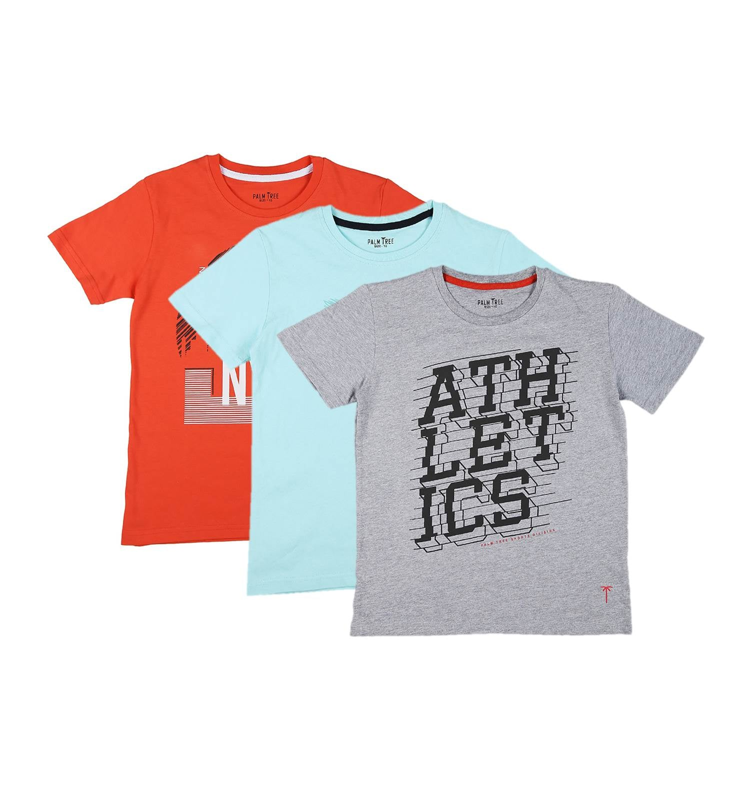Pack Of 3 Graphic T-shirts