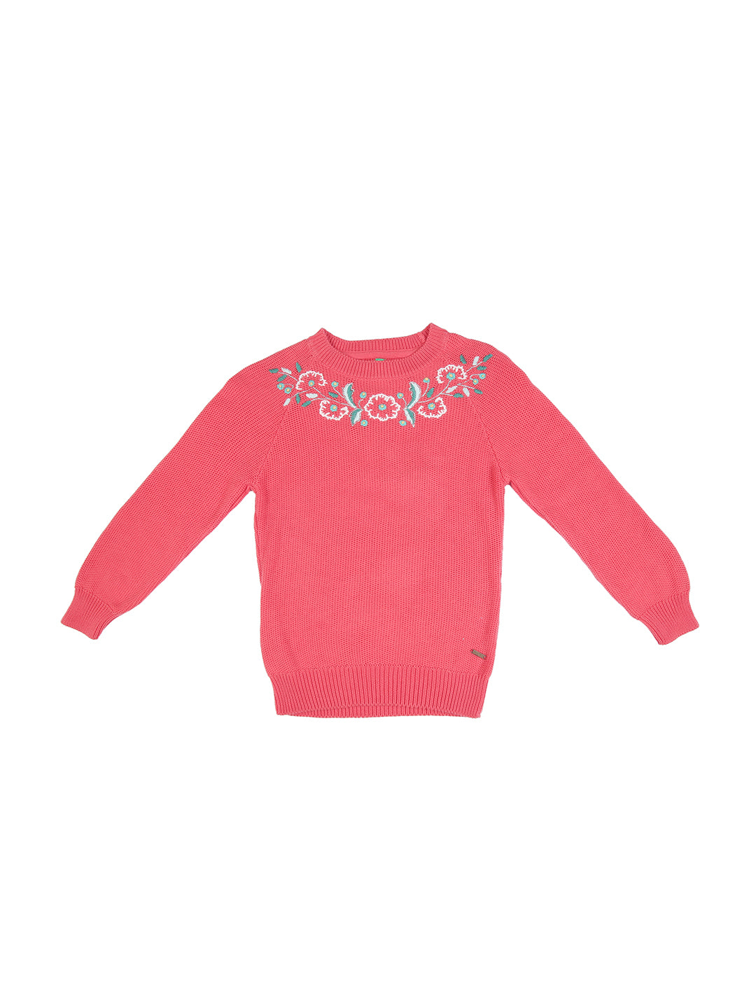 Hot Coral Sweater