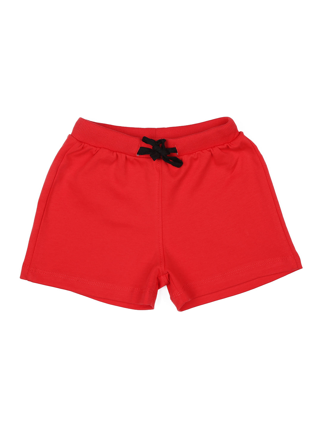 Fiery Red Shorts Pack Of-2