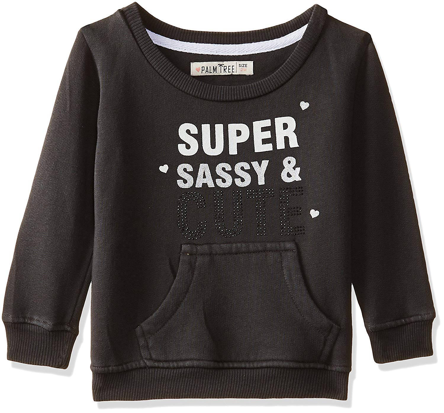 Girls Sweat Shirts Black