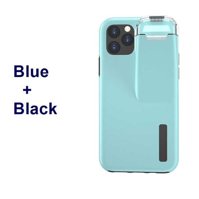 Stylish Phone Case with  Airpod charging compartment