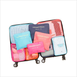 6 PCS Travel Storage Bag Set