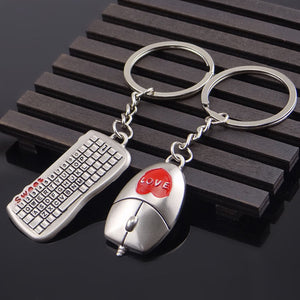Mouse And keyboard Key Ring