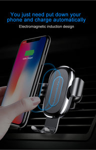 Smart Sensor Wireless Car Phone Charger