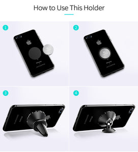 Magnetic Air Vent Phone Holder