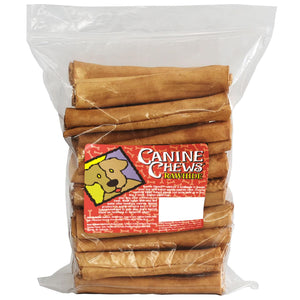 "Canine Chews 8"" Basted Rawhide Retrievers for Dogs - 25 ct. Pack of 2"