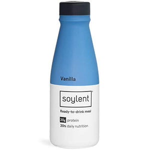 Soylent Meal Replacement Shake, Vanilla, 14 Oz Bottles, 12 Pack
