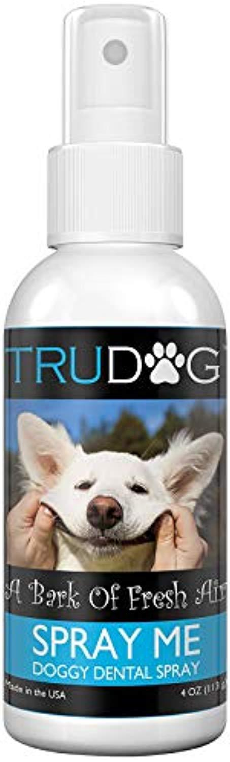 Dog Breath Freshener - Spray Me: Doggy Dental Spray (4oz) - All Natural Ingredients that Freshen Breath While Reducing Dental Plaque