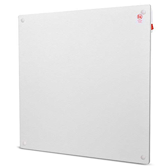 Heater Panel - Wall Mount Heater with Overheating Auto Cut-off, 250 Sq Ft Coverage, Crack Resistant
