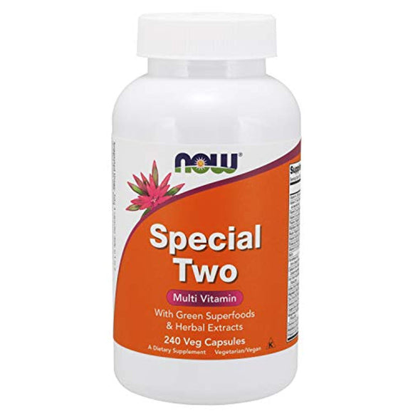 NOW Supplements, Special Two with Green Super foods & Herbal Extracts