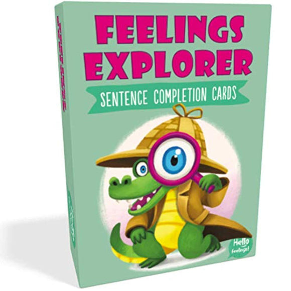 Feelings Explorer Sentence Completion Cards Card Game by Hello Feelings!