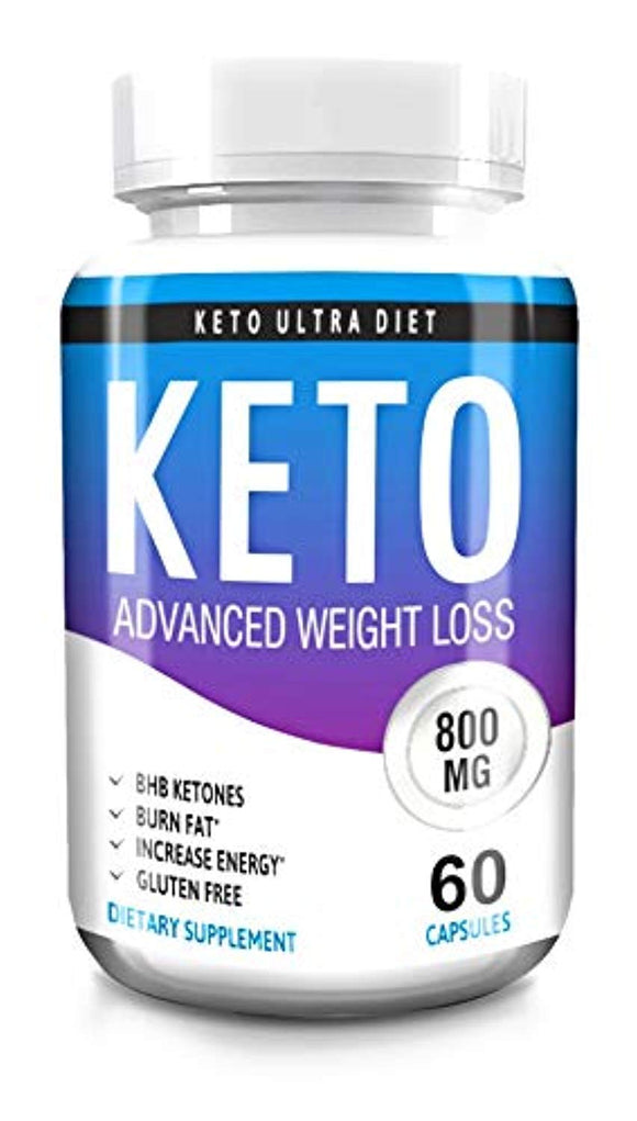 Keto Advanced Weight Loss - Keto - Diet Pills - Capsules Fat Burner