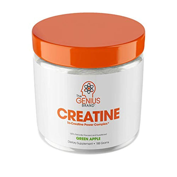 Genius Creatine Powder, Post Workout Supplement For Men and Women with Creapure Monohydrate, Hydrochloride Hcl MagnaPower