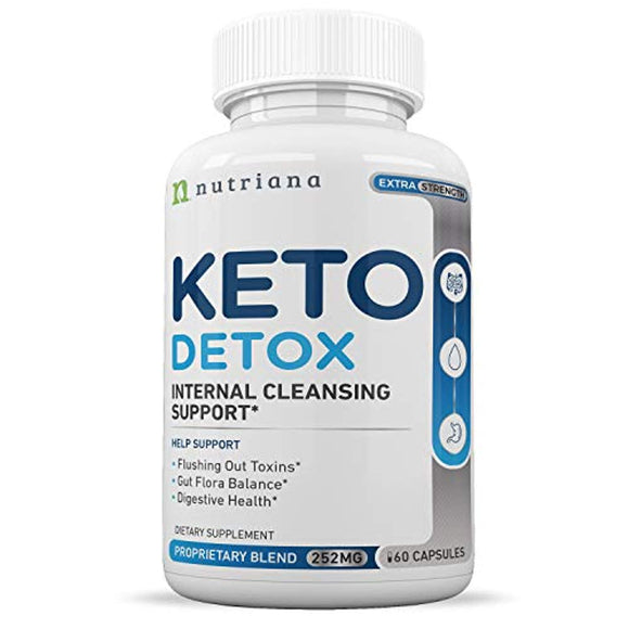 Best Keto Detox Cleanse Weight Loss Pills For Women and Men - Keto Colon Cleanser and Detox for Weight Loss  - 60 Count