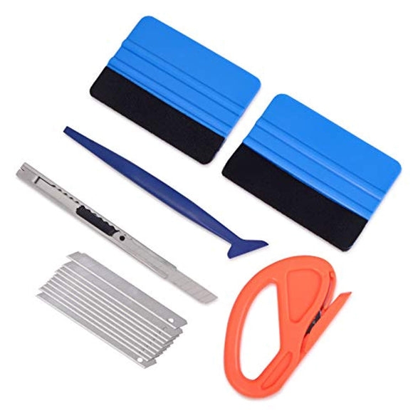 Vehicle Vinyl Wrap Window Tint Film Tool Kit