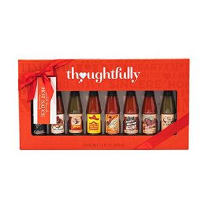 Wild Bunch Hot Sauce Gift Set: A Collection of 8 Hot Sauces Including Flavors Like Smokey Bourbon Hot Sauce, Pico Picante Hot Sauce, Buffalo Garlic Hot Sauce and Many More Unique Sauces.