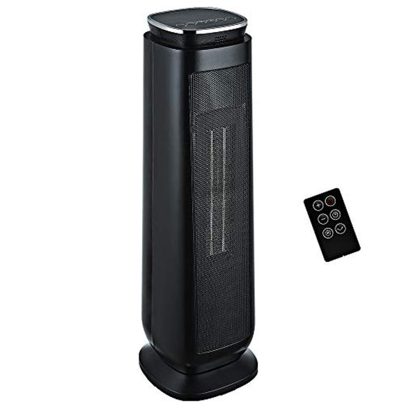 Aikoper Space Heater, 1500W Ceramic Tower Heater, Portable Electric Oscillating Heater