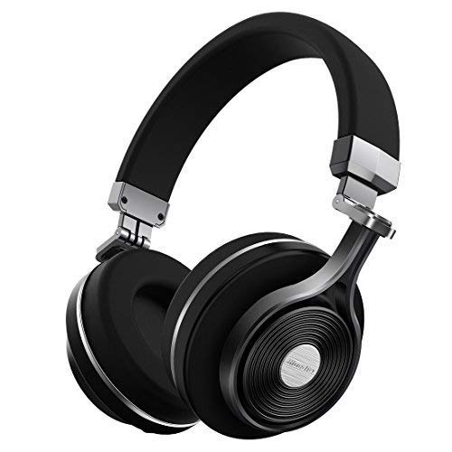 T3 Extra Bass Bluetooth Headphones On Ear with Mic, 57mm Driver Folding Wireless Headset, Wired and Wireless Headphones