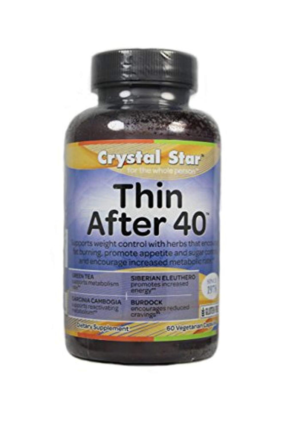 Crystal Star Thin After 40, 60 Vegetarian Capsules