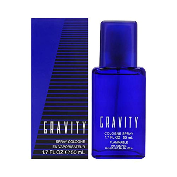 Coty Classics Perfume Gravity 1.7 Fluid Ounce Men's' Fragrance in a Classic