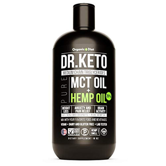 Keto MCT Oil With Hemp Extract